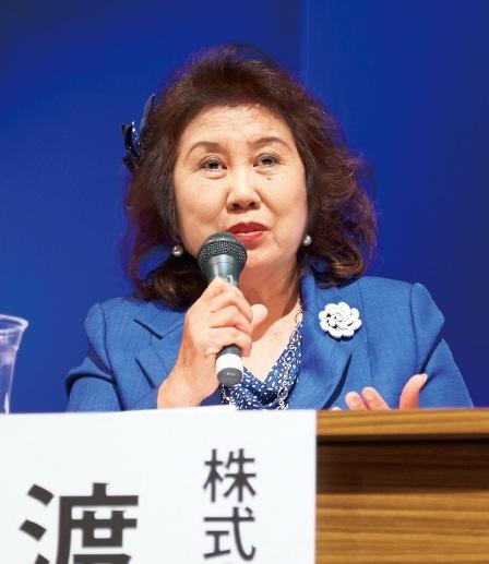 株式会社マキシン 社長 渡邊百合さん