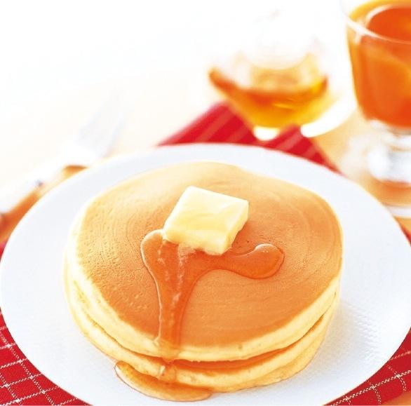 高品質の小麦粉とバニラビーンズを使用した、大人気のホットケーキミックス