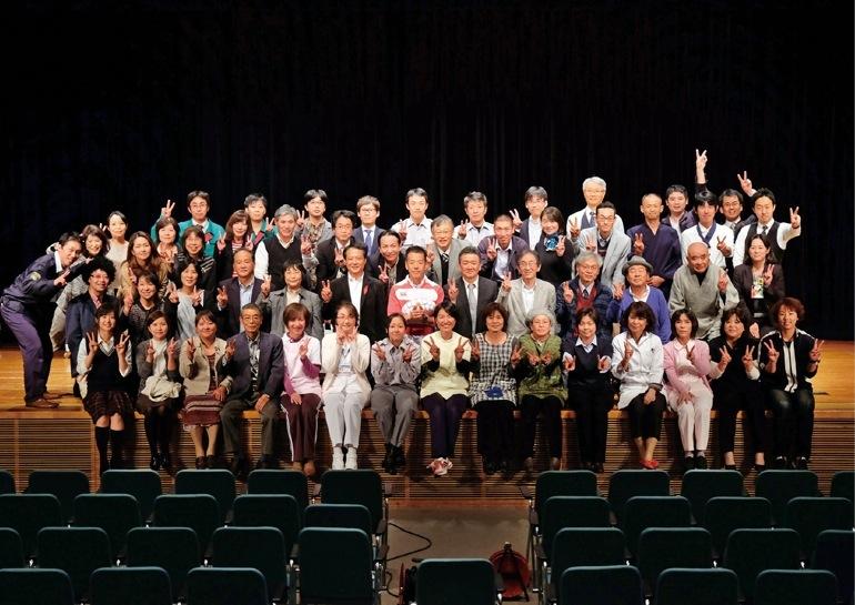 「私達が支えます」を合言葉に、2013年から市民フォーラムの一環として演劇を行っている。演出も舞台セットもすべて手づくり