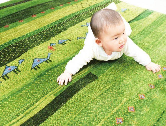 赤ちゃんにも優しい安心素材です。