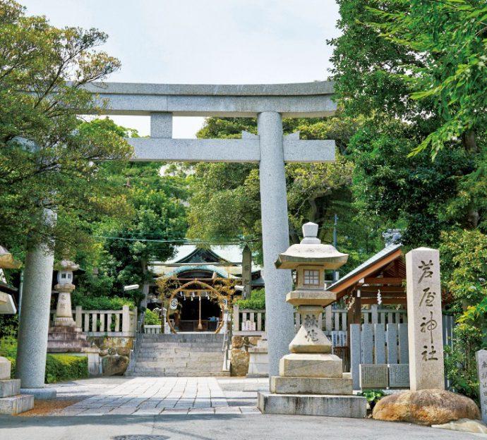 「芦屋神社は私のパワースポットなんです」と美和子さん