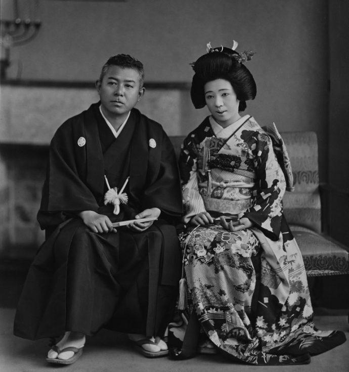 谷崎潤一郎と松子夫人