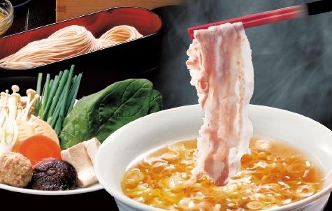 元祖そばつゆ仕立 黒豚しゃぶコース(いちの味)3,800円