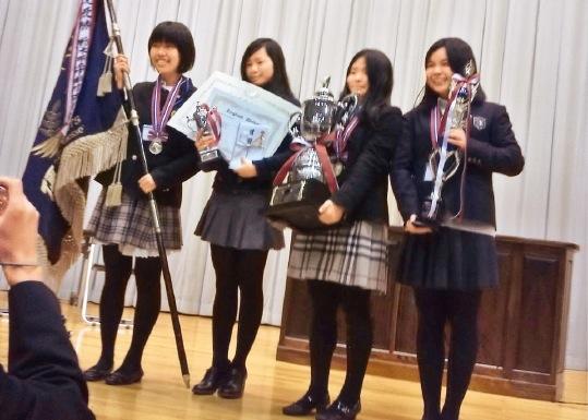 第8回全国高校生英語ディベート大会で優勝を果たす