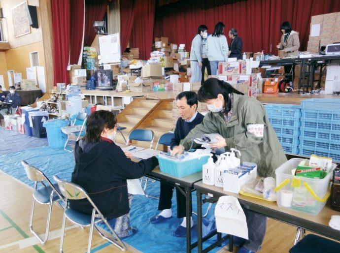 東日本大震災の際には、札幌市医師会の指示のもと支援活動を行った