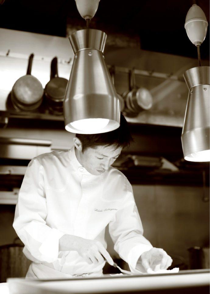 「メゾン・ド・タカ」の髙山英紀シェフは、フランス料理の世界大会で5位となった