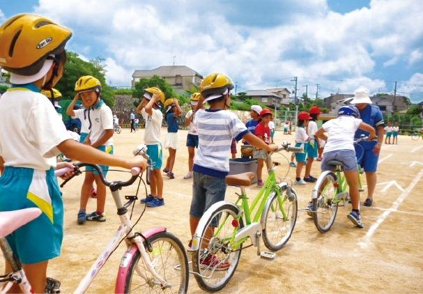 小学生に対する自転車安全教室