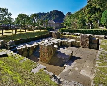 日本を守る大砲を鋳造するために日本人だけで完成させた反射炉跡地
