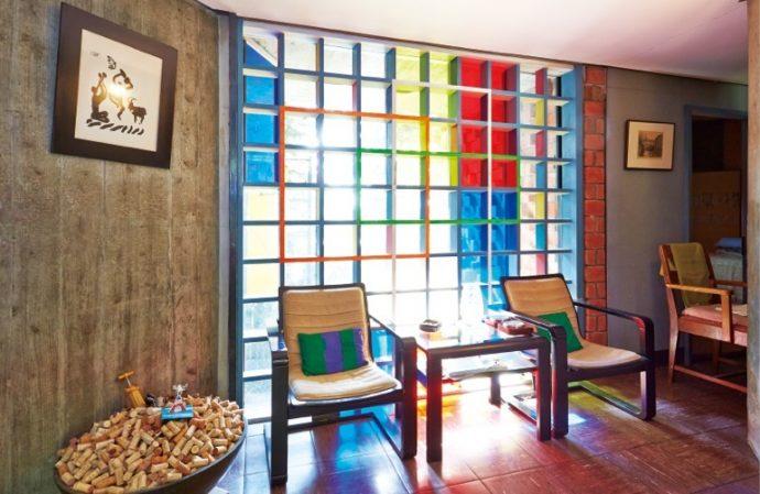 浦太郎邸は近代建築の巨匠、ル・コルビュジエの弟子である吉坂隆正の設計
