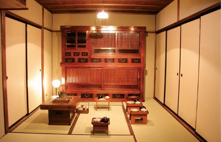 江戸末期から昭和初期にいたる蔵元の生活道具を再現展示