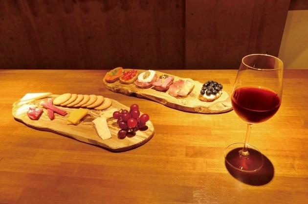 ワインと相性のよいクロスティーニ