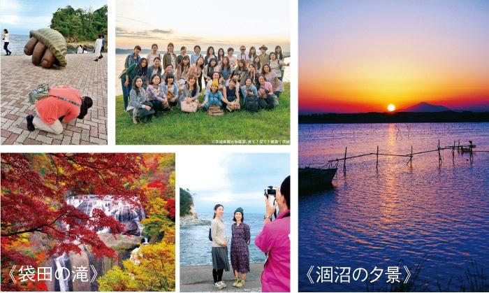 カッコいいカメラ女子のブロガーさんが多数。詩歩さんとの記念撮影もステキな思い出に!