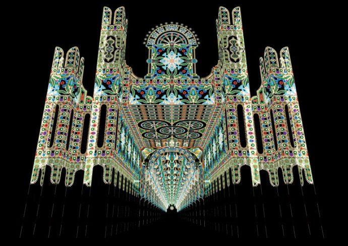 ⒸKobe Luminarie O.C. この画像は、2016年のデザインビジュアル(CG)です。