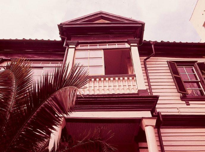 スタデニック邸。昭和51年