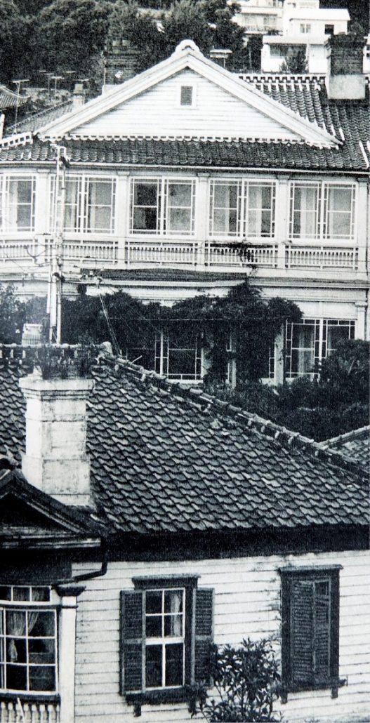 異人館が建ち並んだ昭和30年代の北野町