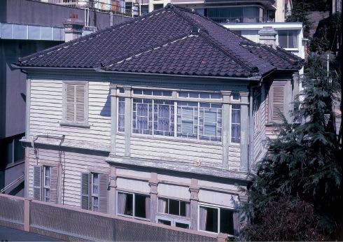 浅木邸。昭和53年