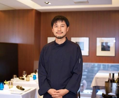 フランス・ブルゴーニュの一つ星レストランで 修業したオーナーの高谷慶さん