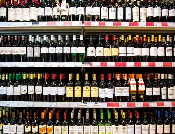 ズラリと並ぶお酒。その数なんと3千種以上!
