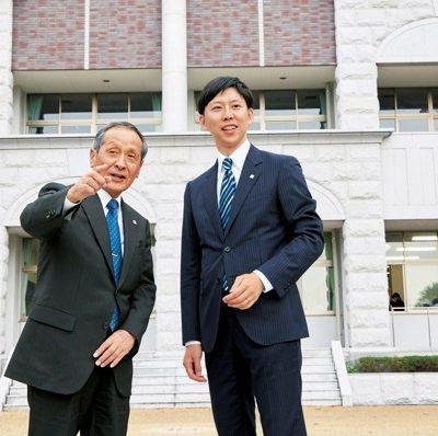 対談/進化する名門私立中学校 第3回 白陵中学校 | 神戸っ子