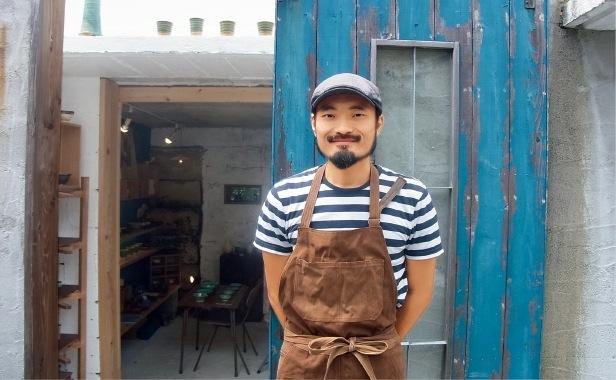 陶芸作家のヨコイマサシさん