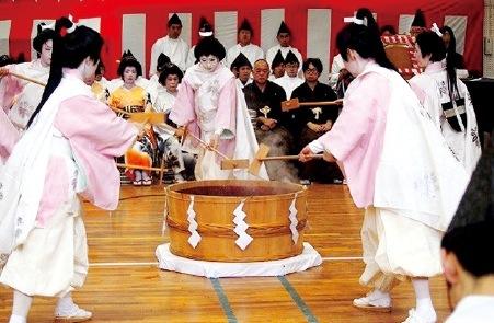 1月2日に開催される「有馬温泉入初式」