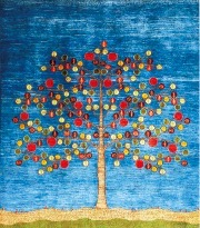 ゾランヴァリのギャッベ絨毯